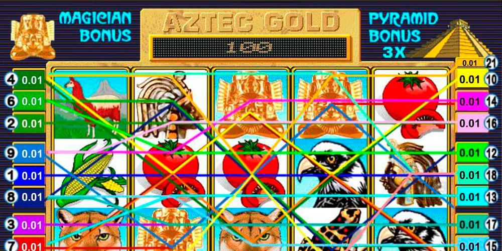 автомат Золото Ацтеков